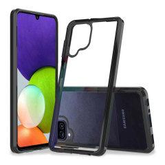 Olixar Exoshield Samsung Galaxy A22 4G Protective Case - Black