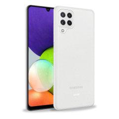 Olixar Flexishield Samsung Galaxy A22 4G Ultra-Thin Case - 100% Clear