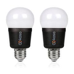 Veho Kasa App Controlled E27 Smart LED Lightbulb 7.5W - 2 Pack