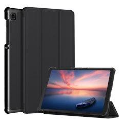 Olixar Leather-Style Samsung Galaxy Tab A7 Lite Case - Black