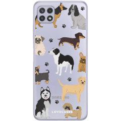 LoveCases Samsung Galaxy A22 4G Gel Case - Pawsome