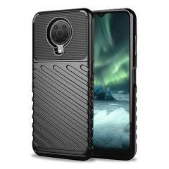 Olixar Nokia 6.3 Tough Armour Case - Black
