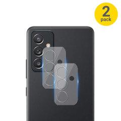 Olixar Samsung Galaxy A82 5G Tempered Glass Camera Protectors - 2 Pack