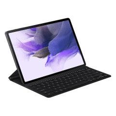 Official Samsung Galaxy Tab S7 FE QWERTZ Keyboard Case - Black