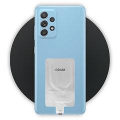 Olixar Samsung A52 10W Fast Wireless Charging Pad & Wireless Adapter