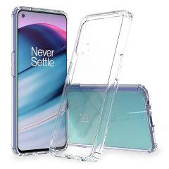 Olixar Exoshield OnePlus Nord CE 5G Bumper Case - Clear