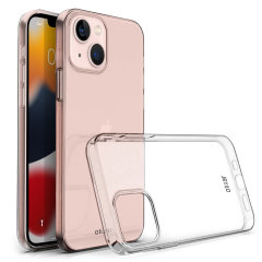Olixar Ultra Thin 100% Clear case- For Apple iPhone 13