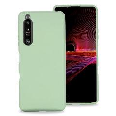 Olixar Sony Xperia 1 III Soft Silicone Case - Green