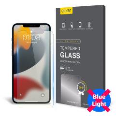 Olixar iPhone 13 mini Anti-Blue Light Glass Screen Protector