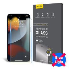 Olixar iPhone 13 Pro Anti-Blue Light Glass Screen Protector