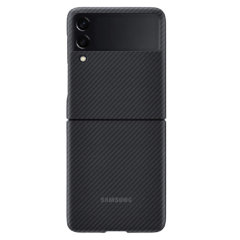 Official Samsung Galaxy Z Flip 3 Aramid Stand Case - Black