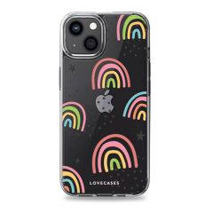 LoveCases iPhone 13 mini Gel Case - Abstract Rainbow