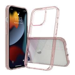 Olixar ExoShield iPhone 13 Pro Max Bumper Case - Rose Gold