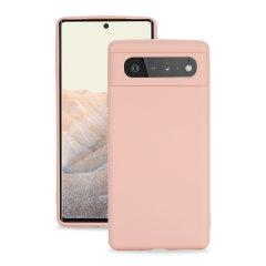 Olixar Google Pixel 6 Pro Soft Silicone Case - Pink