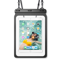 """Olixar Waterproof Pouch For Tablets Up To 12.9"""" - Black"""