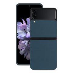 Olixar Genuine Leather Samsung Galaxy Z Flip 3 Case - Green