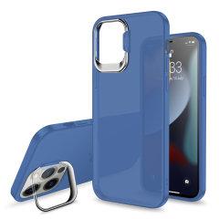 Olixar iPhone 13 Pro Camera Stand Case - Blue