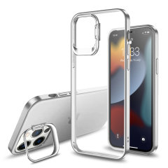Olixar iPhone 13 Pro Camera Stand Case - Clear