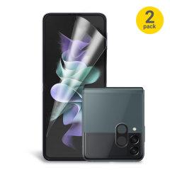 Olixar Samsung Galaxy Z Flip 3 Screen & Camera Protectors - 2 Pack