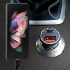 Olixar Samsung Galaxy Z Fold 3 36W Dual Car Charger & 1.5m USB-C Cable