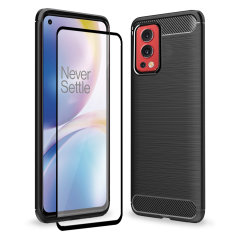 Olixar Sentinel OnePlus Nord 2 5G Case And Glass Screen Protector