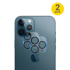 Olixar iPhone 13 Pro Tempered Glass Camera Protector - Two Pack