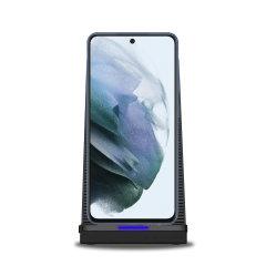 Olixar Samsung Galaxy S21 FE 10W Wireless Charging Stand - Black