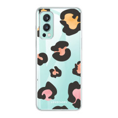 LoveCases OnePlus Nord 2 5G Gel Case - Colourful Leopard