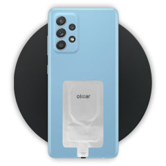Olixar Samsung A52s 10W Fast Wireless Charging Pad & Wireless Adapter