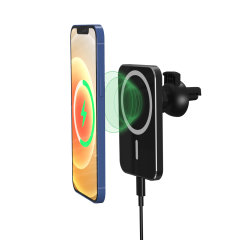 Olixar iPhone 12 Pro Max MagSafe Compatible Charging Car Holder