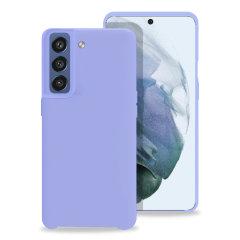 Olixar Samsung Galaxy S21 FE Soft Silicone Case - Purple