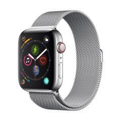 Devia Apple Watch Series 7 41mm Milanese Watch Strap - Silver