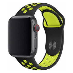 Devia Apple Watch Series 7 41mm Deluxe Sport Strap -  Yellow