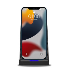 Olixar iPhone 13 mini 10W Wireless Charging Stand With Cooling Fan