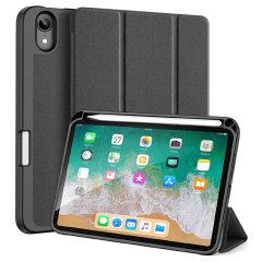 Dux Ducis Domo iPad Mini 6 Stand Case With Apple Pencil Holder - Black