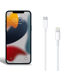 Official Apple iPhone 13 USB-C to Lightning Charging Cable 1m