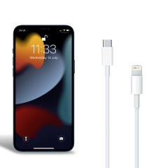 Official Apple iPhone 13 Pro USB-C to Lightning Charging Cable - 1m