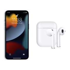 FX iPhone 13 Pro True Wireless Earphones With Microphone - White