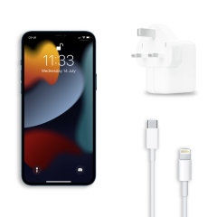 Official Apple 30W iPhone 13 Pro Max Fast Charger & 1m Cable Bundle