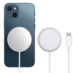 Official iPhone 13 MagSafe Fast Wireless Charger - White