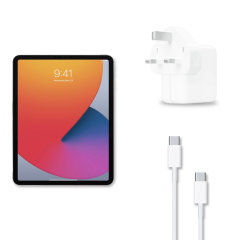 Official Apple 30W iPad mini 6 Fast Charger & 1m Cable Bundle