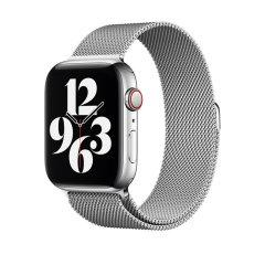Official Apple Watch 44mm Milanese Loop - Silver