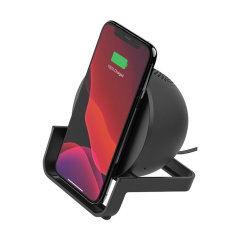 Belkin Boost 10W Wireless Charging Stand & Speaker - Black