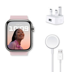 Official Apple Watch Series 7 5W USB Mains Charger & 1m Magnetic Cable