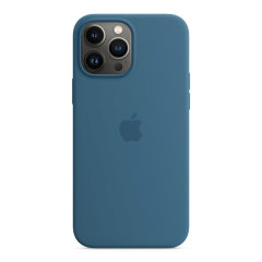 Official Apple iPhone 13 Pro Max Silicone Case With MagSafe - Blue Jay