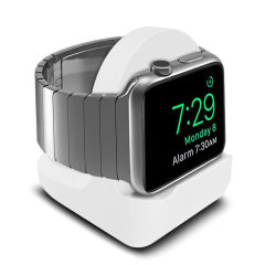 Olixar Apple Watch Silicone Charging Stand - White