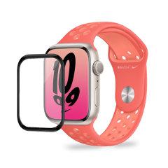 Olixar Apple Watch Series 7 Soft Full Glass Screen Protector - 41mm
