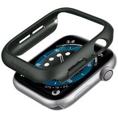 Spigen Thin Fit Apple Watch Series 7 45mm Bezel Case - Green