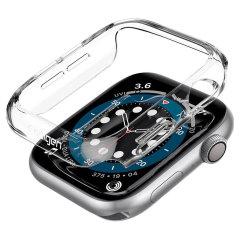 Spigen Thin Fit Apple Watch Series 7 45mm Bezel Case - Clear