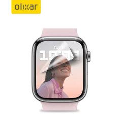Olixar Apple Watch Series 7 41mm Film Screen Protector - 2 Pack